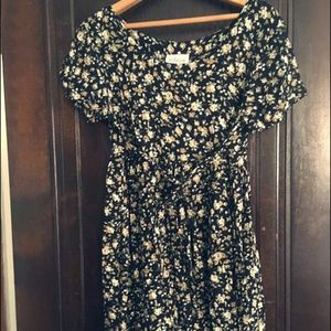 Vintage California Edge Floral Dress